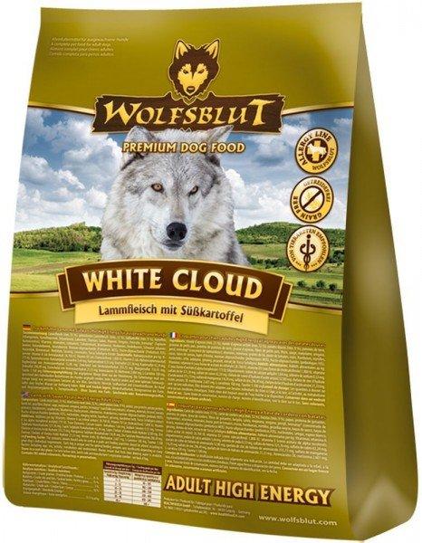 WOLFSBLUT White Cloud ACTIVE (High Energy) mit Lammfleisch & Süßkartoffel Hundetrockenfutter