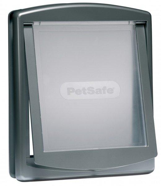PetSafe Staywell Original 2-Wege Haustiertüre groß grau