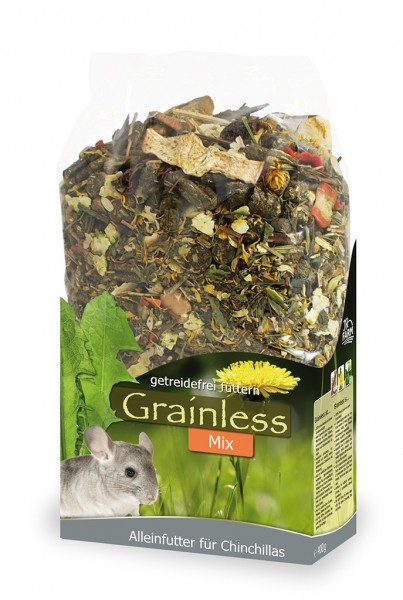 JR FARM Nager Grainless Mix Chinchilla 650g Kleintierfutter