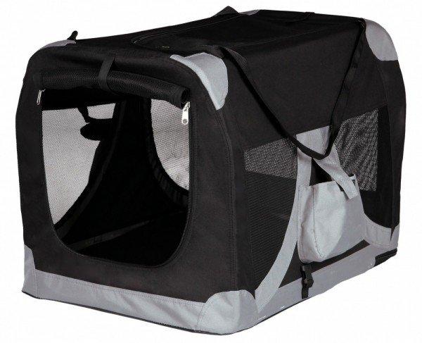TRIXIE Transport-Hütte XS - S 35 x 35 x 50cm schwarz/grau