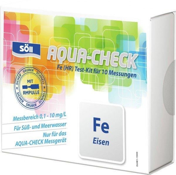 Söll AQUA-CHECK Fe (HR) Eisen Test-Kit für 10 Messungen