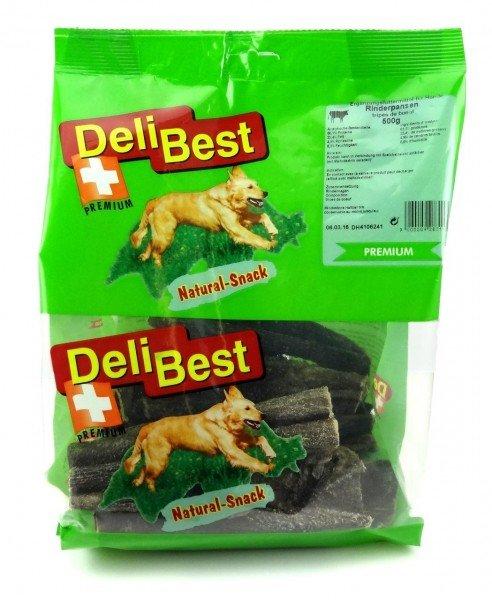 DeliBest Pansen 500g Hundekauartikel