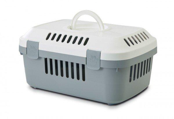 SAVIC Transportbox Discovery Compact grau/weiß