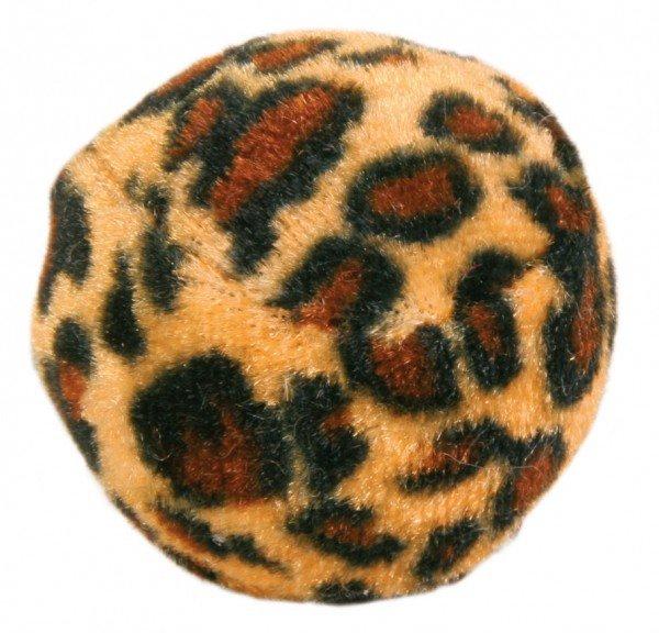 TRIXIE Spielbälle mit Leopardenmuster ø 4 cm (4 Stück)