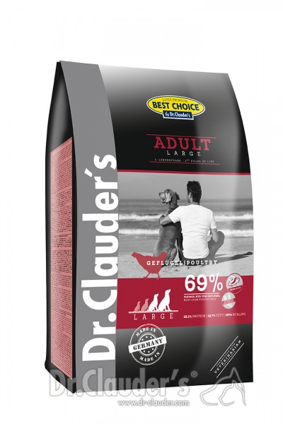 Dr. Clauder's Best Choice Lifecycle Adult Large Breed Hundetrockenfutter
