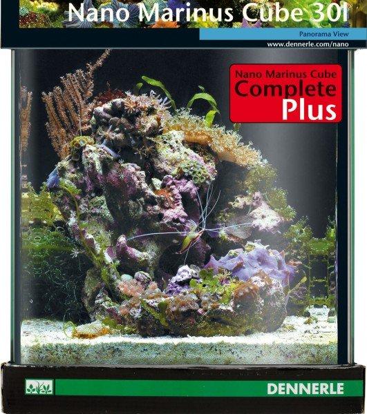 DENNERLE Nano Marinus Cube Complete+ 30 Liter Nano-Aquarium