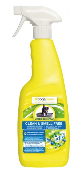 bogaclean CLEAN & SMELL LITTER BOX SPRAY 500ml Reinigungsspray