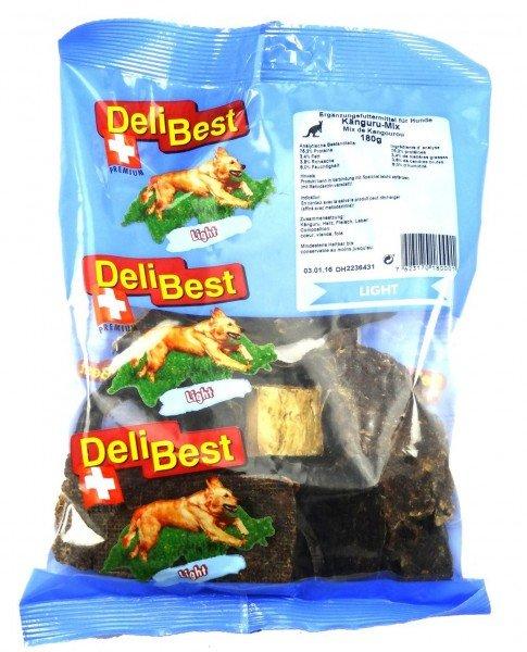 DeliBest Känguru Mix 180g Hundekauartikel