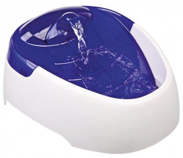 TRIXIE Wasserautomat Duo Stream 1 Liter weiß/blau