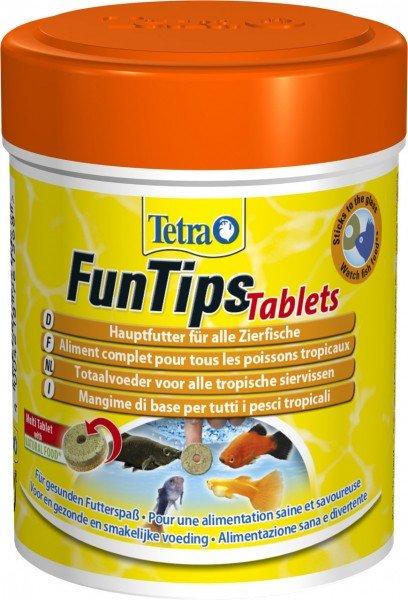 Tetra FunTips Tablets 165 Tabletten Fischfutter