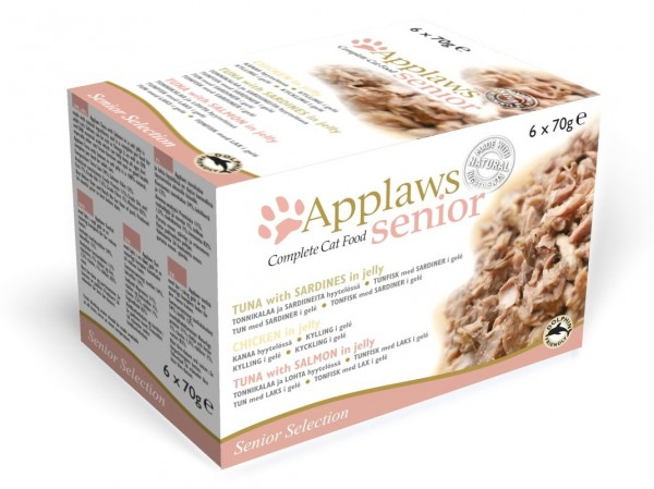 Applaws Cat Senior 6 x 70g Multipack Katzennassfutter