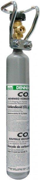 DENNERLE CO2 Mehrweg-Flasche 500g Vorratsflasche