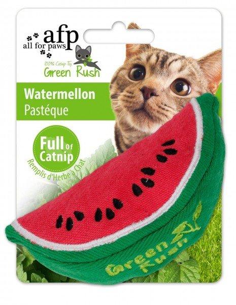 all for paws (afp) Green Rush Watermelon mit Katzenminze Katzenspielzeug