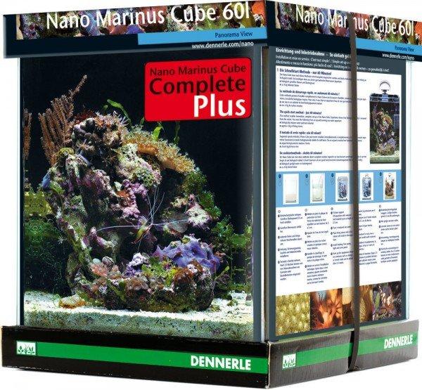 DENNERLE Nano Marinus Cube Complete+ 60 Liter Nano-Aquarium