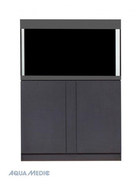 AQUA MEDIC Magnifica 100 CF Meerwasser-Komplettaquarium mit Unterschrankfiltersystem graphite-black