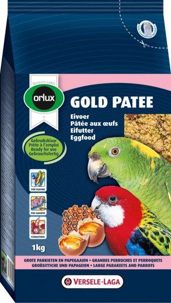 VERSELE-LAGA Orlux Gold Patee Großsittiche & Papageien 1kg Vogelfutter