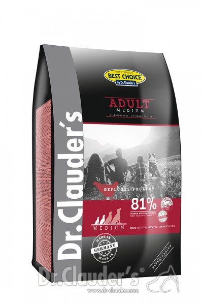 Dr. Clauder's Best Choice Lifecycle Adult Medium Breed Hundetrockenfutter