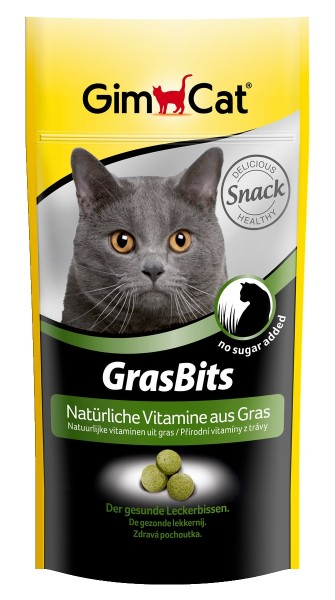 GimCat GrasBits 40g Katzensnack