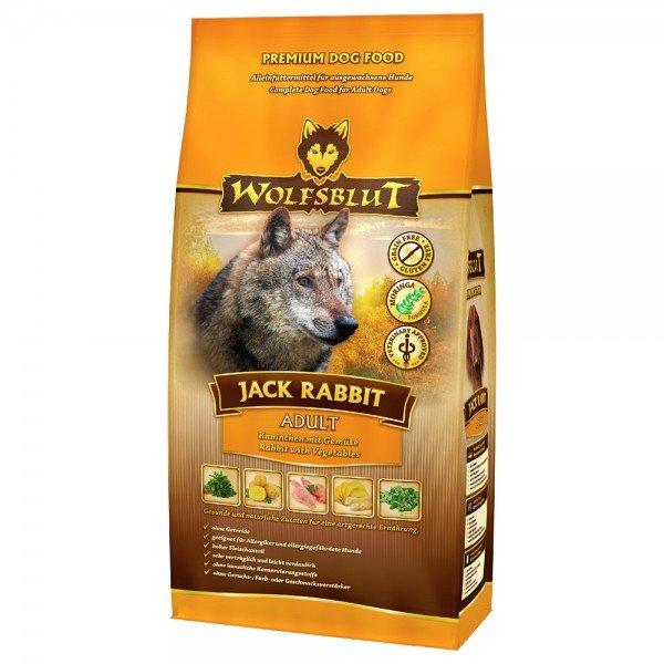 WOLFSBLUT Jack Rabbit Kaninchen mit Gemüse Hundetrockenfutter