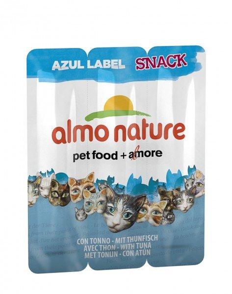 Almo Nature Azul Label Thunfisch 3x5g Katzensnack