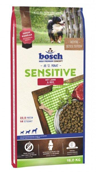 bosch Sensitive Lamm & Reis Hundetrockenfutter