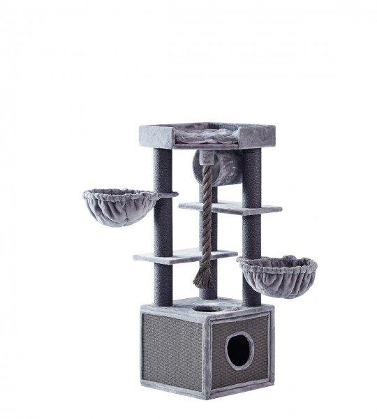 Nobby Kratzbaum Adile 60x60x166cm grau