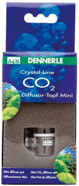 DENNERLE Crystal-Line CO2-Diffusor-Topf Mini