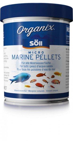 Söll Organix Micro Marine Pellets 270ml Hauptfutter für Meerwasserbewohner