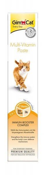 GimCat Multi-Vitamin Paste 50g Nahrungsergänzung für Katzen