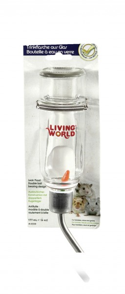 Living World Green Wasserflasche 177 ml