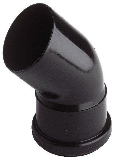 Oase Verbindungsbogen schwarz DN75/45°