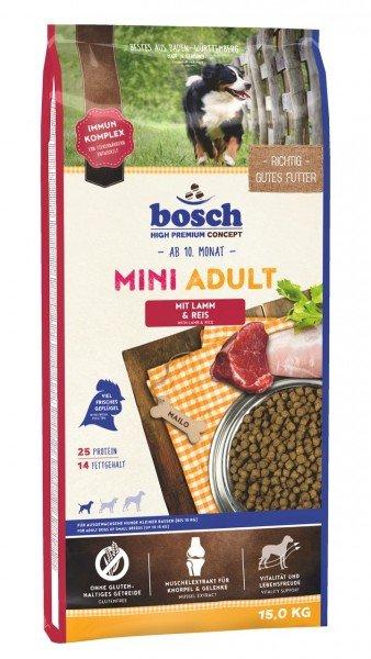 bosch Mini Adult Lamm & Reis Hundetrockenfutter