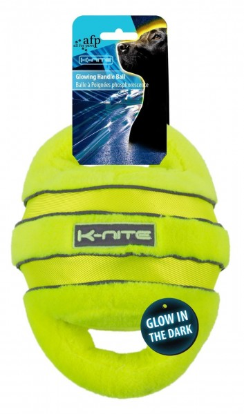 all for paws (afp) K-Nite Glowing Handle Ball Hundespielzeug