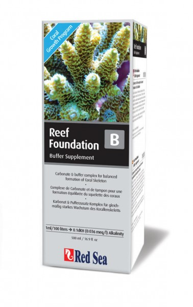 Red Sea Reef Foundation B (Alk) 500ml Karbonat und Pufferzusatz-Komplex
