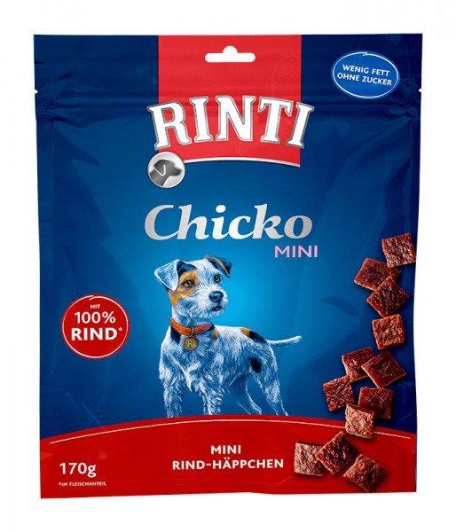 RINTI Chicko Mini Rind 170g Hundesnack