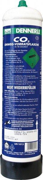 DENNERLE Comfort CO2-Depot Einwegflasche 500g