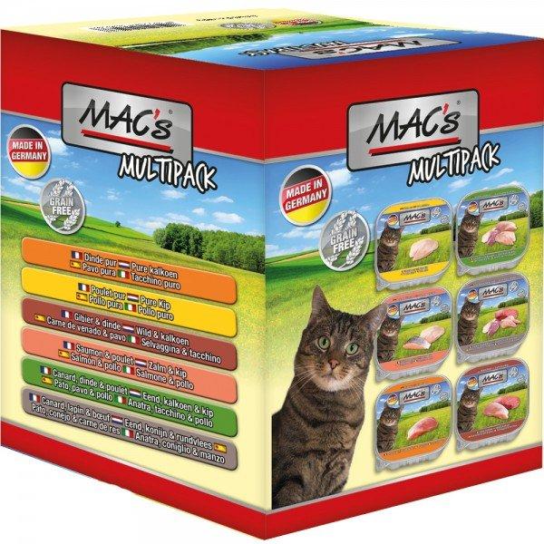 MAC's Cat Multipack 6 x 85g Katzennassfutter