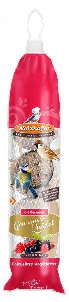 Welzhofer Gourmet-Knödelspender mit Beeren 5 x 100g für Wildvögel