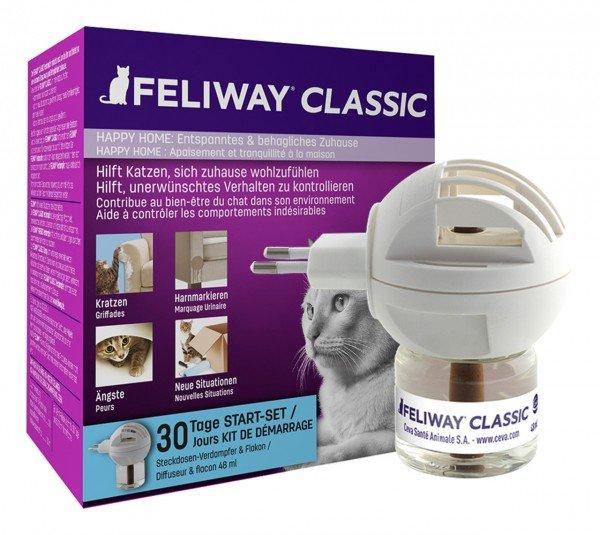 FELIWAY CLASSIC Start-Set (Verdampfer & Flakon 48 ml)