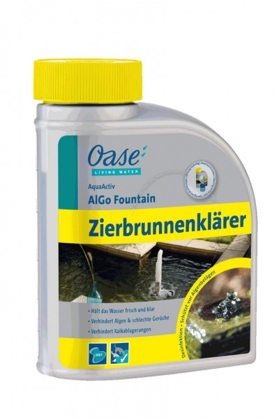Oase AquaActiv AlGo Fountain 500 ml Zierbrunnenklärer