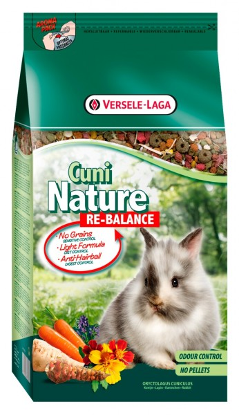 Versele-Laga Cuni Nature Re-Balance 2,5kg Kleintierfutter