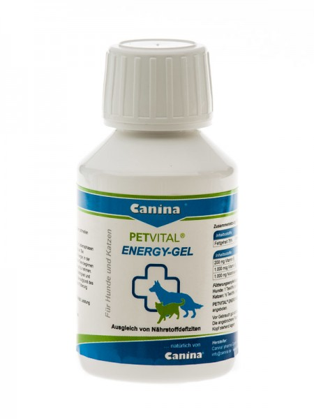 Canina Petvital Energy Gel 100ml