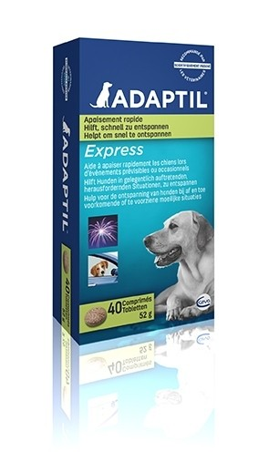 ADAPTIL Express Tabletten 40 Stück zur Beruhigung / Anti-Stress