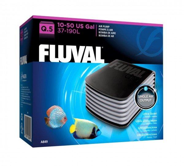 FLUVAL Durchlüfter Q5 Luftpumpe für Aquarien bis 190 Liter