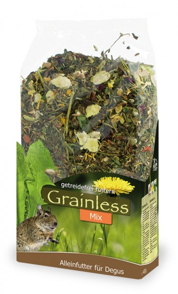 JR FARM Grainless Mix Degu 650g Kleintierfutter