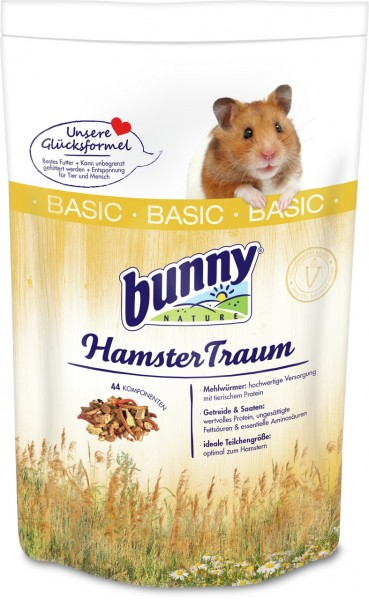 Bunny HamsterTraum 600g Kleintierfutter