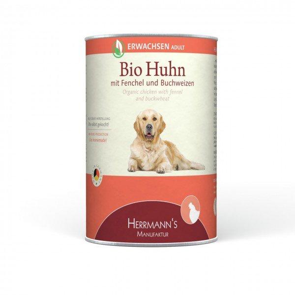 Herrmann's Selection Erwachsen 12x400g Dose Hundenassfutter