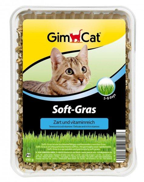 GimCat Soft-Gras 100g Nahrungsergänzung für Katzen