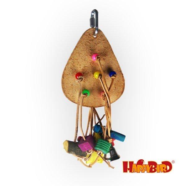 Leather Fun III Holzspielzeug für Papageien