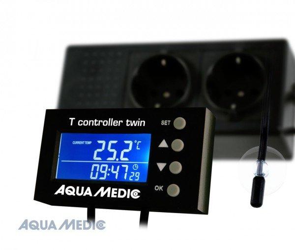 AQUA MEDIC T controller twin Temperatur Mess- & Regelgerät